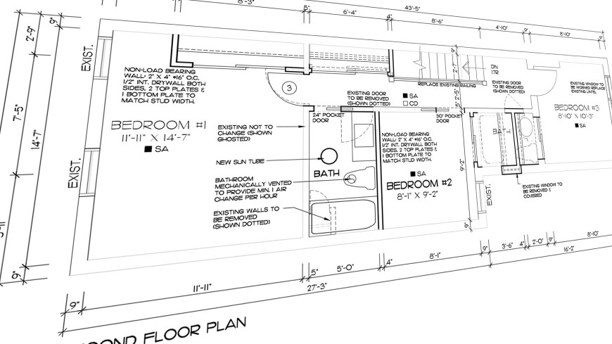 row house floor plans